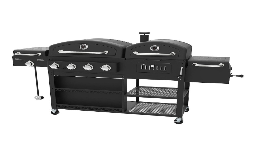 Dual Gas Charcoal Grill Reviews