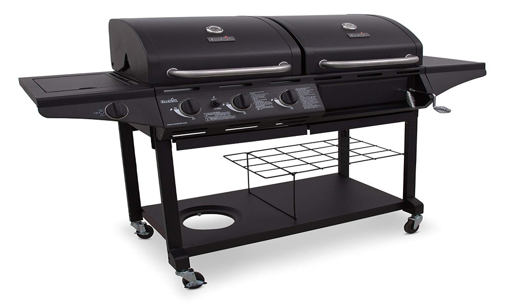 Propane Charcoal Grill Combo