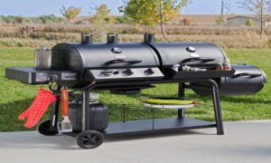 Best Gas Charcoal Smoker Grill Combo of 2019