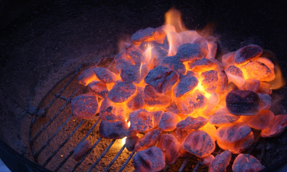 Homemade Charcoal Grill